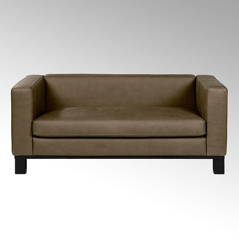Lambert Bella, Sofa lang, Leder Afrika, braun