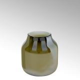 Lambert Ferrata Vase, oliv, klein