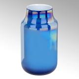 Lambert Ferrata Vase, petrol, groß