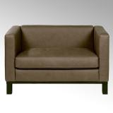 Lambert Bella, Sofa, Leder Afrika, braun