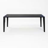 Lambert Aracol Tisch Eiche, schwarz, 100 x 240 cm
