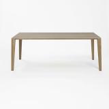 Lambert Aracol Tisch Eiche, weiß gekälkt, 90 x 200 cm