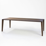 Lambert Aracol Tisch Walnuß, 100 x 240 cm