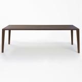 Lambert Aracol Tisch Walnuß, 90 x 200 cm
