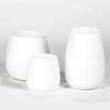 Lambert Pisano Vase groß weiß